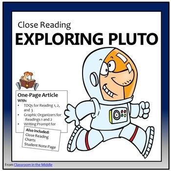 Close Reading - Exploring Pluto