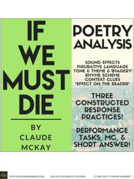 """Close Reading Poetry Analysis: Claude McKay's """"If We Must Die"""""""