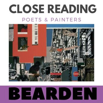 Close Reading Poetry and Art - Black Manhattan -Bearden -
