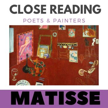 Close Reading Poetry and Art - The Red Studio - Matisse -