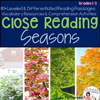 Close Reading Seasons