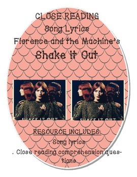 """Close Reading Song Lyrics:  Florence and the Machine's """"Sh"""