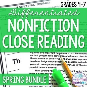 Close Reading - Spring Bundle {March-June}