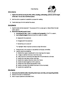 Close Reading Step by Step for Readers