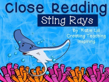 Close Reading -- Sting Rays