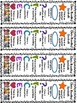 Close Reading Symbols Posters & Bookmarks, Winter, Valenti