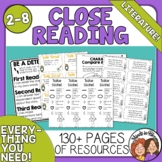 Close Reading Tool Kit for Literature (Fiction)