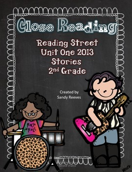 Close Reading Unit One Reading Street 2013 The Twin Club a