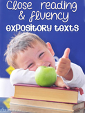 Close Reading and Fluency {Expository Texts}