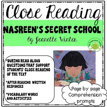 Engage NY Module 1 - Nasreen's Secret School - Page by Pag
