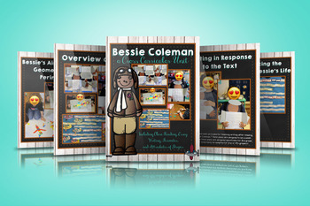 Close Reading and Writing Unit with Bessie Coleman - Mini