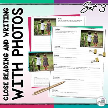 Close Reading and Writing with Photos: Photo Writing Promp