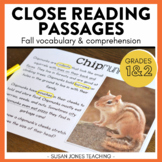 Close Reading for 1st Grade (Fall Edition)