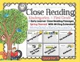 Close Reading for Kindergarten & First Grade: Spring Quart