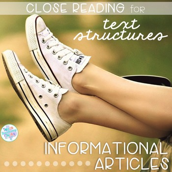 Close Reading for Nonfiction Text Structures