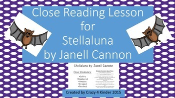 Close Reading for Stellaluna