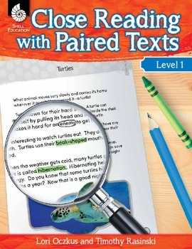Close Reading with Paired Texts Level 1 (eBook)
