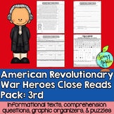American Revolution, Revolutionary War, Leveled Passages 3