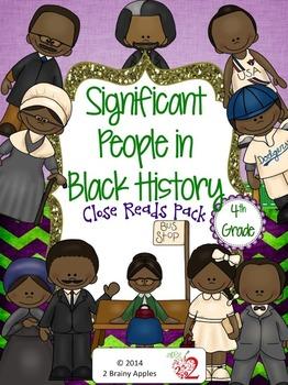 Black History Month Leveled Passages 4th Grade Sampler