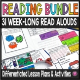 Close Reads Year Long Bundle for Kindergarten through Third Grade