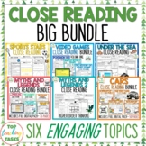 Close Up BIG BUNDLE - Close Reading Comprehension Texts /
