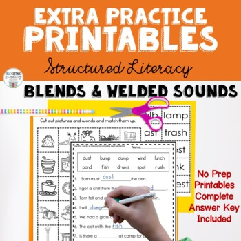 Closed Syllable Homework Packet