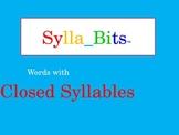 MAP Prep Reading Closed Syllables SyllaBits Fluency Buildi