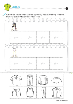 Clothes / Clothing Worksheets *Printables*