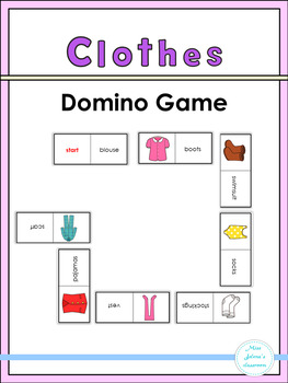 Clothes Domino Game