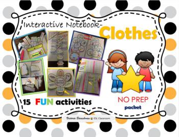 Clothes-Interactive Notebook