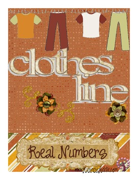 Clothes Line - Real Numbers