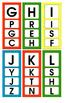 Clothes Pin Alphabet Matching