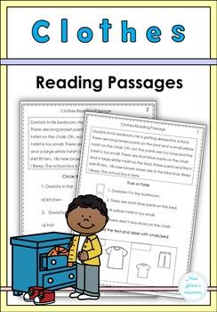 Clothes Reading Passages