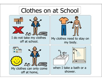 Clothes Stay On At School - A Social Narrative