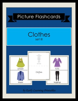 Clothes (set III) Picture Flashcards
