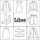 Clothing: Beginner Bingo (Multi-Lingual)