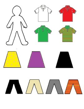 Clothing Paper Doll