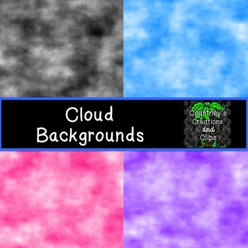 Cloud Backgrounds {Freebie}