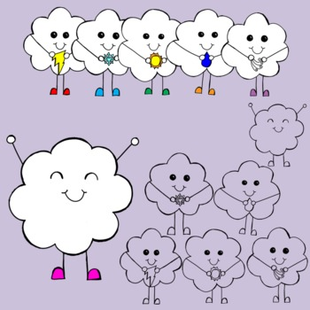 Cloud Cuties {Graphics for Personal/Commercial Use}