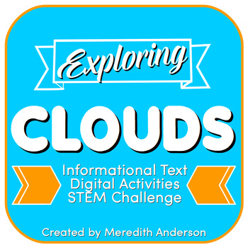 Cloud Types with STEM / STEAM Activities