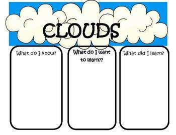 Cloud in a Jar observation book