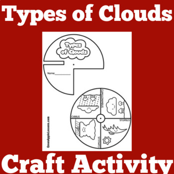 Clouds Craft Activity