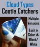Types of Clouds Activities: Poster, Foldable, Science Expe