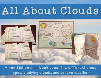 Clouds - All About Clouds Minibook plus craftivity