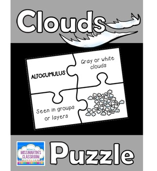 Clouds Matching Puzzle Game