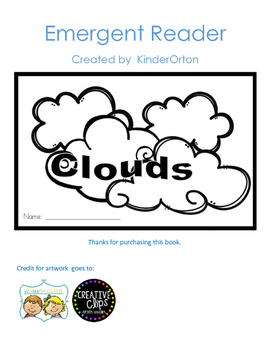 Clouds - emergent reader
