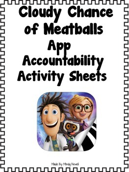 Cloudy Chance of Meatballs App and FREE Accountability Act