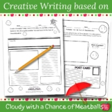 Cloudy With a Chance of Meatballs Creative Writing Activities