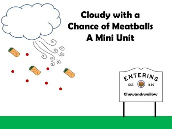Cloudy With a Chance of Meatballs Mini Unit