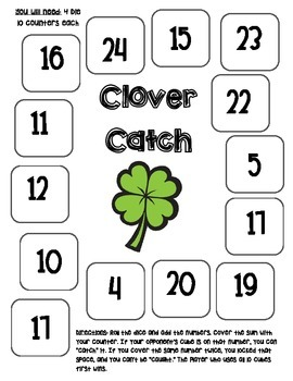 Clover Catch- Bump Game